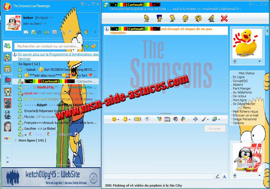 Skin Windows Live Messenger The Simpsons - Page 2 1175721361-skinsimpsons